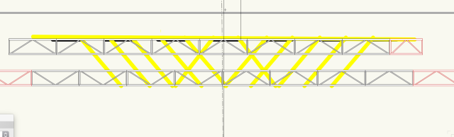 sept. Crossing Set (Plan View truss CU)